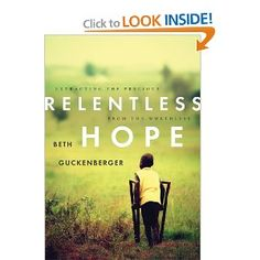this is an amazing book. so many stories we hear are at the finish-this reminds us of what life is when we are still in the middle of the story. and how we can find real HOPE