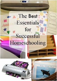 The Best Essentials for successful homeschooling