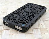 Beautiful iPhone case... For only $74.99 I could have one too :-x
