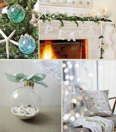 Coastal Christmas Decorating