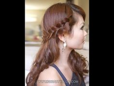 Romantic Bohemian Braid. Very simple.
