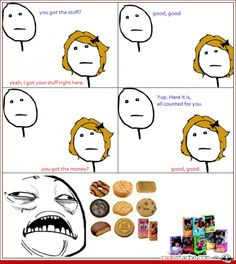 Girl Scout Cookie Transaction