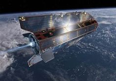 A 1.2-ton research satellite plunged into the Earth's atmosphere and likely incinerated on Sunday, the European Space Agency said.  The agency is still figuring out where pieces of the satellite landed.  Read more from @NBC News: http://www.nbcnews.com/science/radio-silence-europes-goce-satellite-falls-its-fiery-doom-2D11575746