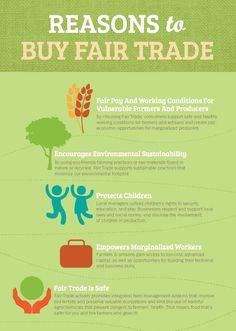 World Fair Trade Organization (WFTO) As if there are not enough reasons to buy #FairTrade. Click for more: http://bit.ly/1pmKhdO [Photo Credit: BabuskaDarling.blogspot] 5 reason to buy fair trade Spread by www.fairtrademarket.com supporting #fairtrade and #novica
