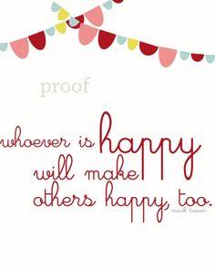 happy makes happy