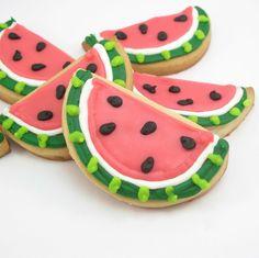 Watermelon Cookies