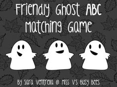 FREEBIE ABC Matching Game