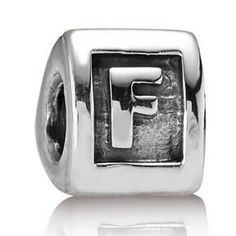 Letter F Charm Sterling Silver - Only $24.99