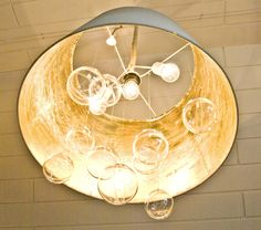 Pudel-design: DIY bubble chandelier from IKEA Lampshade!