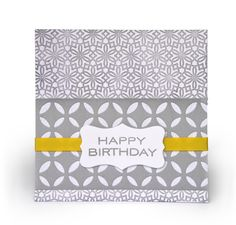 Letterpress birthday card made with the DIY Letterpress system from Lifestyle Crafts. #letterpress
