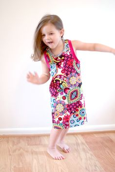Doli Tank by LouBeeClothing lengthened to dress - PDF pattern that's super quick and easy