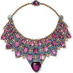 Duchess of Windsor's Amethyst Bib necklace, Cartier