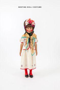 Homemade Nesting Doll Costume (Make in multiples for the full effect!)