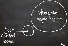 life, truth, wisdom, true, inspir, comfort zone, magic happen, quot, thing