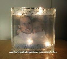 Judy's Handmade Creations: Glass Decor Block Project!!