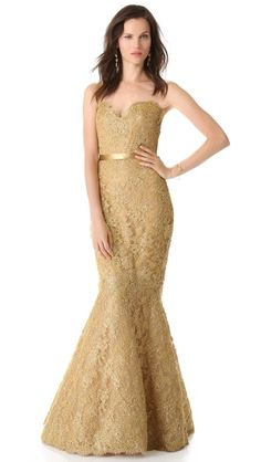 black and gold wedding dresses, reem acra, acra metal, gold black bridesmaid, glamourous gold dresses, gowns, fancy bridesmaid dresses, black tie gown, gold gown