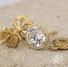 BIG WISH:  Tacori diamond stud earrings