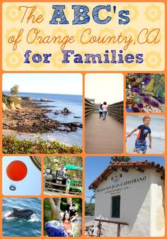 Check out our ABC of Orange County California list of fun things to do with your family besides the usual amusement park.  Jugglingwithkids.com #orangecounty #family #activities #fun #sunshinekids