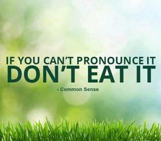 Common sense.