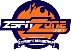 ESPN themed Bar Mitzvah logo by Party Favorites