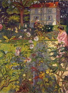 Édouard Vuillard, Garden at Vaucresson, 1920