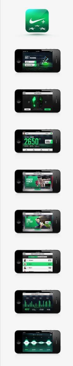 another cool #nike #mobile #app that I found on #behance on Twitpic    ----BTW, Please Visit:  http://artcaffeine.imobileappsys.com
