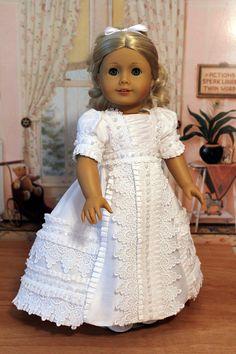 Elegant Regency Gown for Caroline by BabiesArtUs