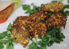 Zucchini Corn Fritters Recipe