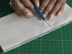 Sergers - Re-Joining a Stitched Seam.  A FREE article, guide and fashion sewing video tutorial, only at http://www.fashionsewingblog.com