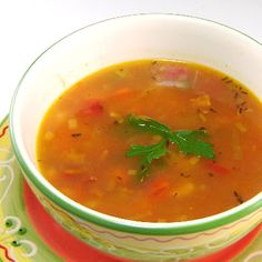 Manhattan Clam Chowder - my Mom preferred Manhattan style over New England style, no one else in the family did (my father referred to it as fancy vegetable soup), so she'd make a batch, divide it up and freeze it so she'd have it while we had the New England style she made for us. Years later, when she was ill and living with me, I'd buy a can of Campbell's Manhattan Style Clam Chowder and surprise her with it for dinner. Funny how little things can mean so much. (Link goes to a recipe.)