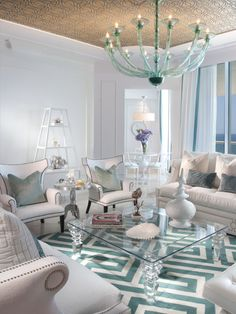 Living Room Tiffany Blue Design, Pictures, Remodel, Decor and Ideas