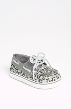Sperry Top-Sider® 'Bahama' Crib Shoe (Baby) --The reason I need a little girl!! :)