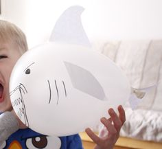 music, game party, birthday parties, shark parti, indoor games, balloons, sharks, parti idea, under sea