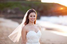 Photography: Joanna Tano - joannatano.com Floral Design: Country Bouquets - countrybouquetsmaui.com/ Beautiful Bride! @Mandy Dewey Seasons Resort Maui   Read More: http://www.stylemepretty.com///