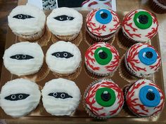 Awesome cupcake idea for our Halloween party