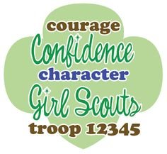 Custom Girl Scout Troop Shirts  Full Color Printed by domesticspaz, $14.00