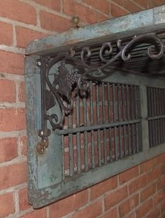 I did this with an old set of leaded glass transom side doors my husband found for me on the side of the road!
