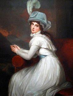 """Emma Hamilton"", George Romney, ca. 1795; location unknown"