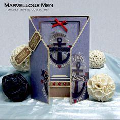 Anchor hunkydori special, mensboy card, card inspir, card ideashunkydori, hunkydori card, card hunkydori, crafti card, anchor