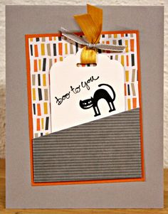September Card Sketch ~ SSINKCS13, Kim Ryden, Stampin' Up!, SSINKspiration, Freaky Friends, Good Greetings