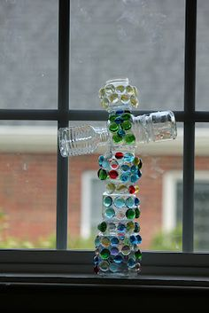 Glass Sculpture - yeah, I know it's for kids but I'll probably still do it.