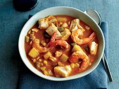 Southwest Seafood Chowder
