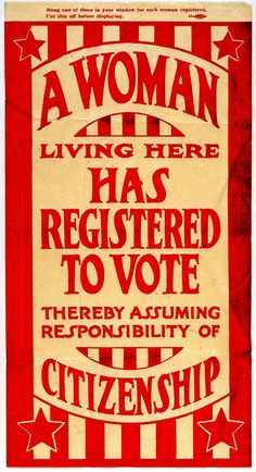 c. 1920  Suffrage Flyer  MHS Collections. (via Missouri History Museum)