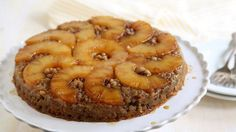 Blogger Annalise Sandberg of  Completely Delicious shares a summer garden twist on pineapple upside-down cake.