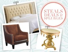 I pinned this from the Steals, Deals & Splurges - Furniture for All Styles & All Budgets event at Joss and Main!