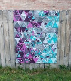 Tesselation Quilt Top by Sara Lawson of Sew Sweetness