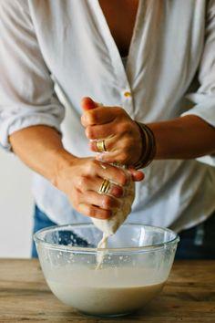 making almond milk • my darling lemon thyme
