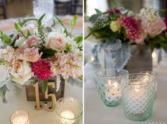 Modern Elegant Peach and Navy Maine Wedding