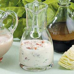 Blue Cheese Bacon Dressing Recipe