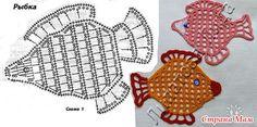 Crochet Fish Chart